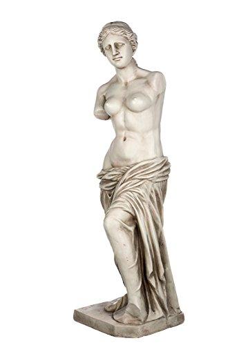 Riesige XXL schwere (12 kg) Statue antike Venus Michelangelo 118cm SY166546 Gartenfigur