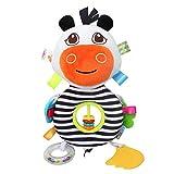 Sonajeros de bebé Vaca de dibujos animados Juguetes para bebés Cochecito...