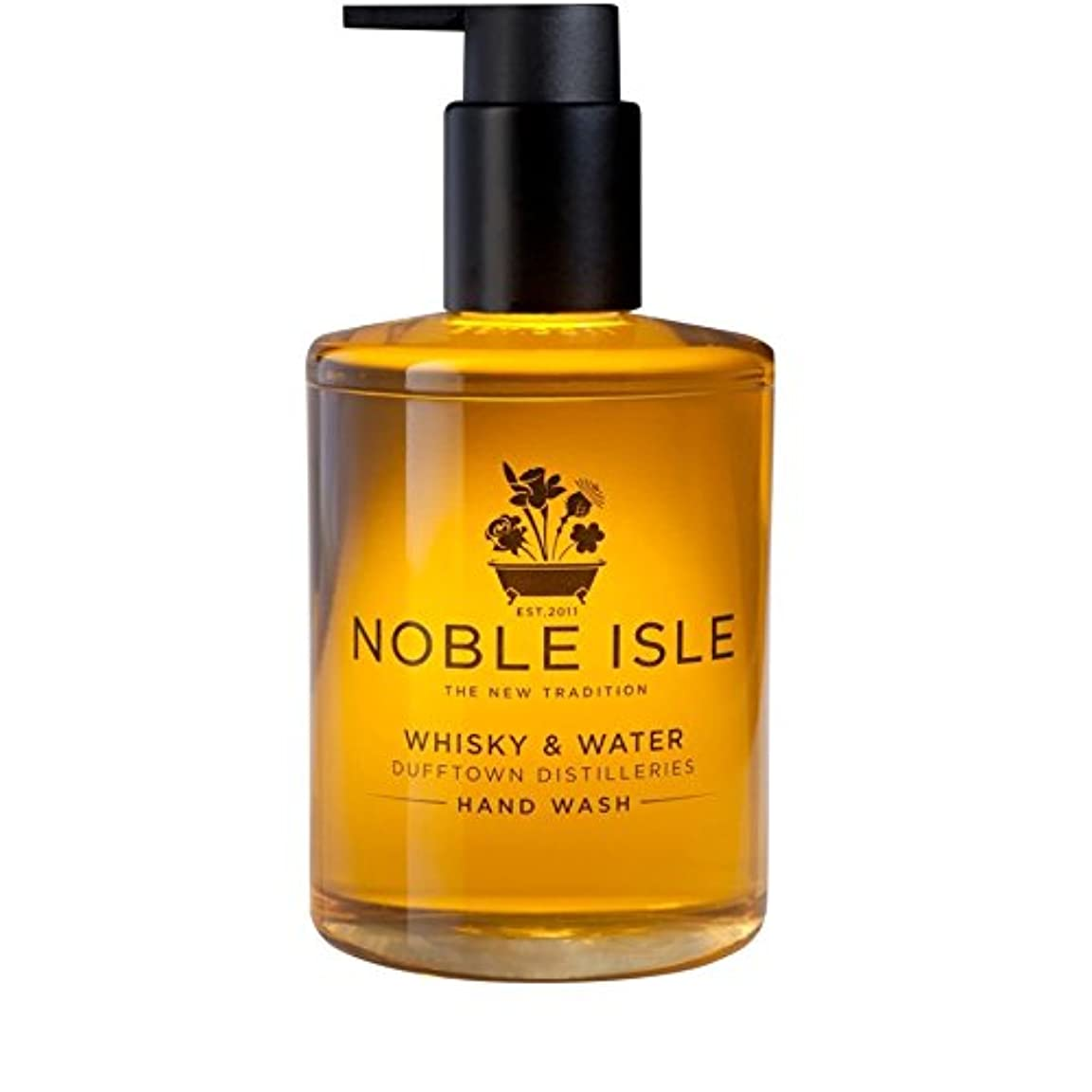 寮征服乱闘Noble Isle Whisky and Water Dufftown Distilleries Hand Wash 250ml - 高貴な島の水割りの蒸留所のハンドウォッシュ250ミリリットル [並行輸入品]