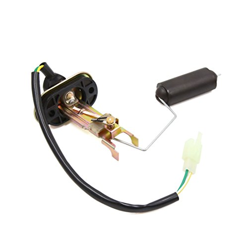sourcing map Sensor del Medidor Indicador Nivel Gasolina Combustible Ensamblado para Moto GN-125