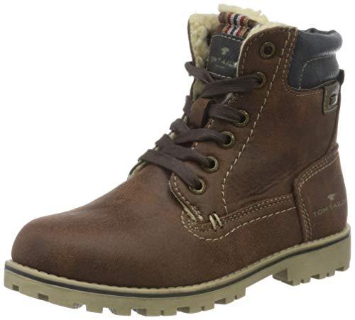 Tom Tailor 9070506 Halblange Stiefel, Mokka, 36 EU