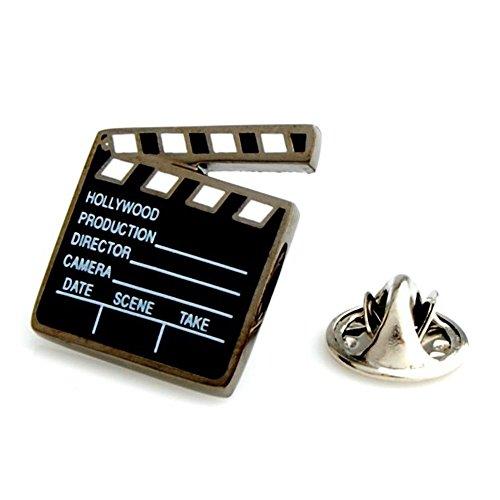 Procuffs Clapperboard Director Film Cast Gift Movie Lapel Pin Tack Tie