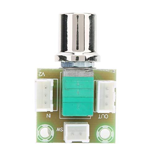 con tablero de potenciómetro Tablero de control de volumen Interruptor de potenciómetro Interruptor de atenuación de potenciómetro Doble 50K con base de terminal, para controlar el volumen
