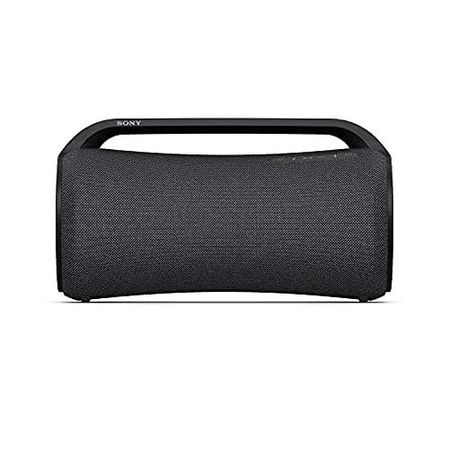 Sony SRS-XG500, Enceinte Portable Festive et Robuste Bluetooth avec Son Puissant, lumières et autonomie de 30 Heures Black