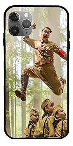 MDTEE Phone Case Compatible with iPhone 12 11 X Xs Xr 8 7 6 6s Plus Mini Pro Max Adolf Hitler Red Movie DVD JoJo Rabbit Blu Ray Comedy Drama 2019 Pure Clear Cases Cover Full Body