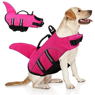 Amazon - 70% Off on Large Dog Life Jacket,Dogs Life Vests for Swimming Extra Large,Puppy Float