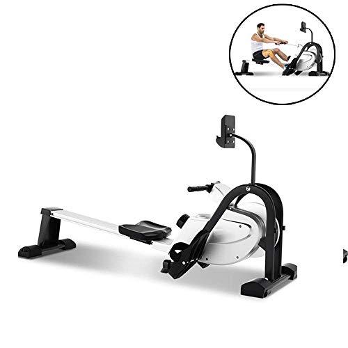 Rudergerät Haushalt faltbare Lownoise Magnetic Control Rudergerät Ausdauertraining Indoor Sport Shaping Ausrüstung for den Sport geeignet Fitness HAOSHUAI