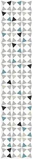Plage Vinilos para Escaleras-Amandola, Azul, 19x3x100 cm, 3 Unidades