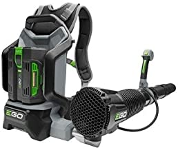 Backpack Blower with Brushless Cordless Motor Features Jet-Engine Inspired Turbine Fan, EGO's ARC Lithium Battery Technology and Robust Tool Construction, Ideal for Outdoor Cleaning