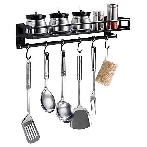 Queta Estante de Cocina de sin Perforación, Organizador para Utensilios de Cocina...