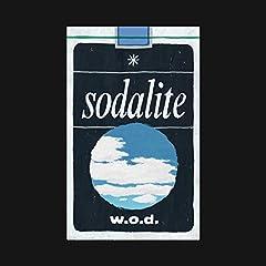 w.o.d.「sodalite」の歌詞を収録したCDジャケット画像