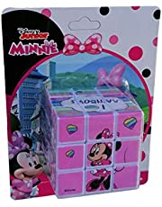 CARTOON GROUP Cubo mágico Minnie Mouse Disney Cube Puzzle 6 x 6 x 6 cm – MIN0701