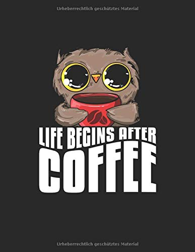 Kaffee Tasting Buch: Dein persönliches Verkostungsbuch zum selber ausfüllen ♦ für über 100 verschiedene Kaffeesorten ♦ Egal ob aus europäischen, ... Format ♦ Motiv: Life begins after coffee 12