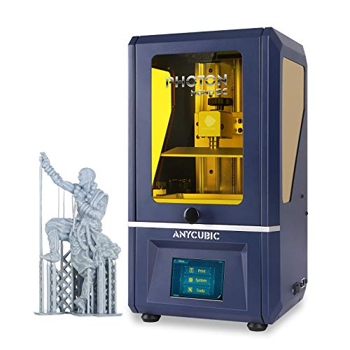 "ANYCUBIC Photon Mono SE Resin 3D Printer, UV LCD SLA 3D Printer Ultra Fast Printing with 6"" 2K Mono Screen and WiFi Function, Dual Z-axis Linear Rail, Print Size 5.12""(L) x 3.07""(W) x 6.29""(H)"