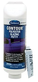 Eastwood Before Painting Contour Polyester Glazing Putty 24 Oz Tube