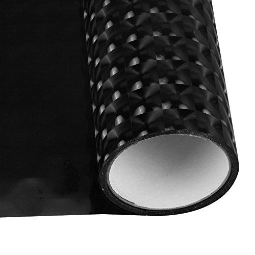 Auto-Licht-Film, 3D Auto Lampe Shine Film Nebelscheinwerfer Kopf-Licht Rücklicht PVC-Folie Blatt Auto Dekoration Abziehbilder Wasserdicht 120x30cm