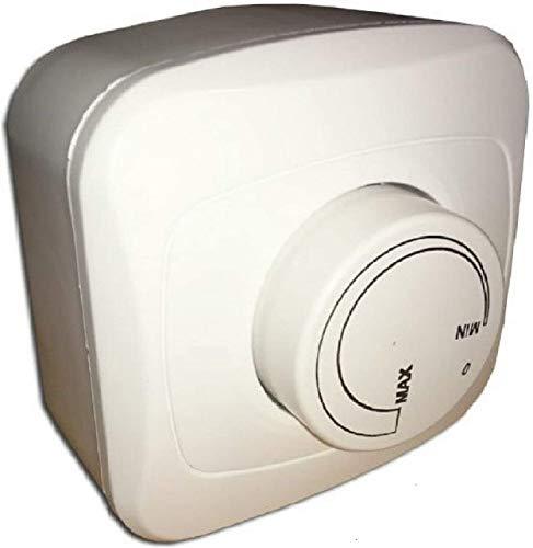 Aufputz Drehzahlregler 500 Watt Drehzahlsteuerung für Ventilator, Gebläse, Lüfter, Ventilatoren 230V /500watt Drehzahlregler, Drehzahlsteller, Spannungsregler, Ventilator, Lüfter 230v