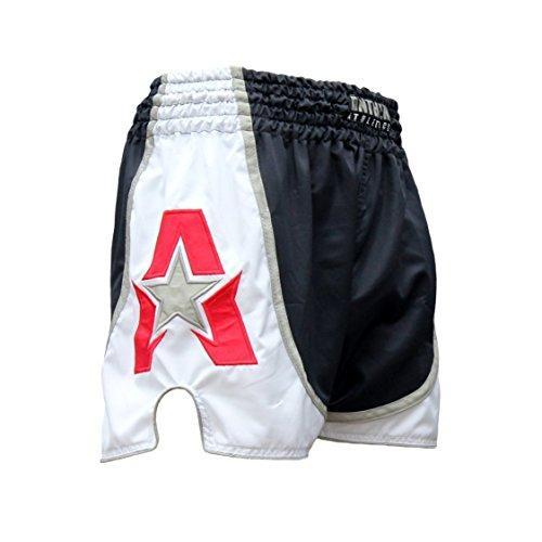 Anthem Athletics zInfinity Muay Thai Shorts - Kickboxing, Thai Boxing - Navy, White & Red - Medium