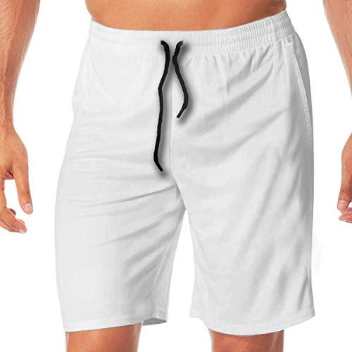 tyui7 Snow Wolf Shorts de Encaje elásticos de Secado rápido Shorts de Playa Pantalones Bañador Bañador con Bolsillos