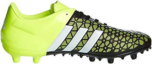 adidas Herren ACE 15.3 FG/AG Fußballschuhe, Mehrfarbig (Black/Green/White), 41 1/3 EU
