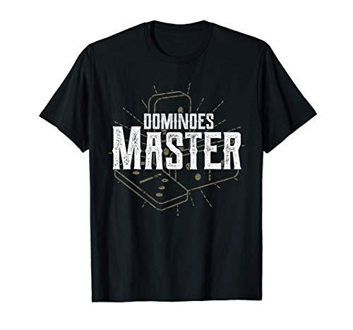 ドミノゲーム 趣味 グラフィック ドミノマスター 面白いことわざ Tシャツ