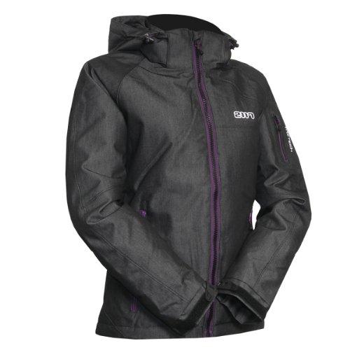 2117 of Sweden Damen Ski Jacke Womens Jacket Heidi, Black, 40