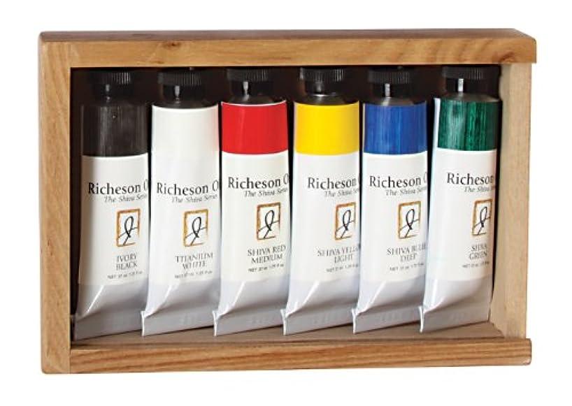 Jack Richeson 37-Ml Artist Oil Colors, Set of 6