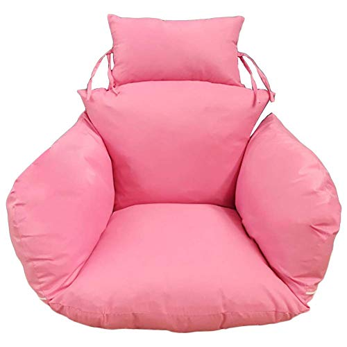 Opknoping Hangmat stoelkussens, nest Swing Seat Cushioning Dik verwisselbare Stoel terug met kussen Rotan Cradle Basket Cushion-b dljyy (Color : B)