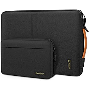 iNeseon Laptop Sleeve Bag with Detachable Accessory Pouch