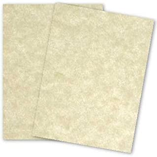 Astroparche Aged Parchment Card Stock 65lb Cover - (8 1/2 X 11) - 50 per Pack