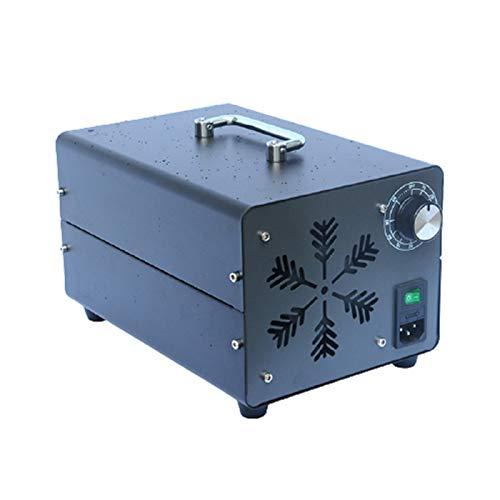 Raxinbang Purificador de Aire Ozono 5000mg / H Comercial Purificador De Aire De Ozono Generador Portátil Desodorante del Esterilizador De La Máquina con El Temporizador For El Hogar, Automóviles