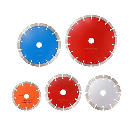 CJIANHUA-HERRAMIENTAS Sierra de diamante de la hoja 125/155/190/230 mm Amoladora angular seco húmedo cortador de disco for la baldosa de piedra circular hoja de sierra Todo nuevo nunca usado