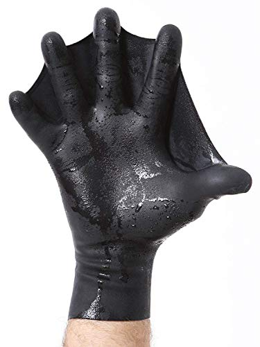 Darkfin Webbed Power Swimming Gloves (Male Medium Large)