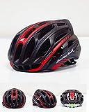 DUANYR-Helmet Casco de Ciclo -Bicicletas Equipado con Carretera de montaña Cascos Cascos de Patinaje Scorpio Deportivos de Seguridad cómodo Montar al Aire Libre se Puede Ajustar Ultra Ligero