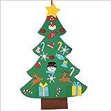 Cloverclover Ãrbol de Navidad de Fieltro con Decoraciones Desmontables, Decoraciones para Puertas...