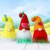 Zwerggewandelmelon Zwerg Dollfaceless GNOME Handmadefaceless DollPlushDollShandMade PlushGnome Giftsf (Color : B, Size : 32 * 13 * 12CM)
