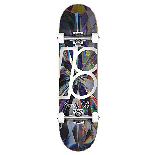 Plan B Team Kaleidoscope Factory - Skateboard completo, 8'