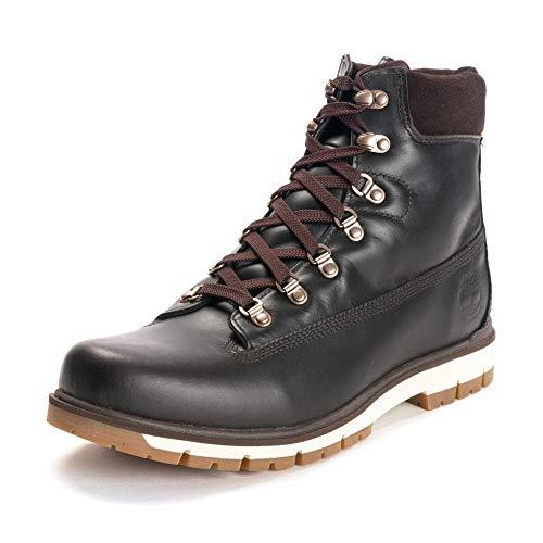 Timberland M Radford 6-Inch Waterproof Boot D-Ring Braun, Herren Primaloft Winterstiefel, Größe EU 45 - Farbe Black COF