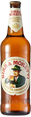 Moretti Set 15 Birra Trinkflasche 66Cl Bevanda Alcolica, Mehrfarbig, 15 Stück