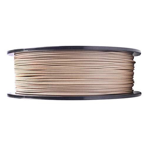 3d Printer Filament, PLA Wood Filament 1.75mm, Add Natural Wood Powder, Feel the Breath of Nature-Yellow wood/5kg