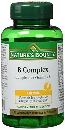Nature s Bounty B Complex Complejo de Vitamina B - 100 Comprimidos