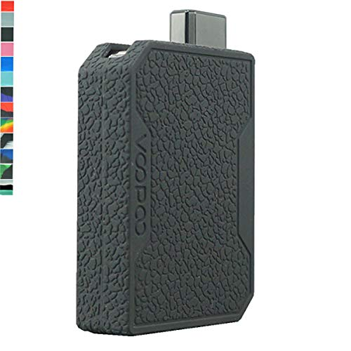 Lononvie 1pcs Protective Case for Voopoo Drag Nano Kit 750mAh,Silicone Case Sleeve Cover Shield Wrap(Black)