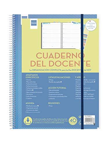 Cuaderno del docente semana página español ✅