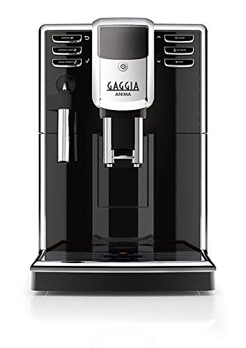 Gaggia RI8760/18 Anima Coffee Machine, 1850 W, 15 Bar, Black