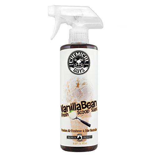 Chemical Guys AIR23116 Vanilla Bean Fresh Scoop Scent Air Freshener & Odor Eliminator