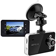 """Dash Cam, Car Camera Front for Cars , with Hardwire Kit 24H,1080P Full HD, 2.7"""" Screen, Loop Recording, G-Sensor, WDR, Night Vision, Motion Detection, 120° Wide Angle (Black) (Black)"""