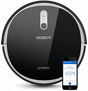 Ecovacs Deebot 711 Robot Vacuum Cleaner with Smart Navi 2.0, Systematic Mapping Cleaning, Wi-Fi Connectivity, Ideal for Pe...