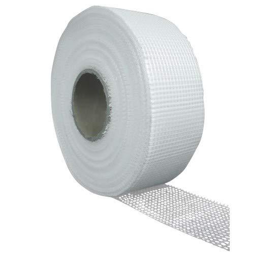 24 Großrollen Fugenband selbstklebend je 50mm x 90m Fugenstreifen Trockenbau Gewebestreifen Putz Gitterband Armierungsgewebeklebeband Gewebeband