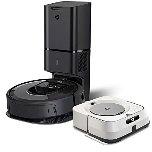 iRobot Roomba i7+ (7550) Robot Vacuum with Braava...