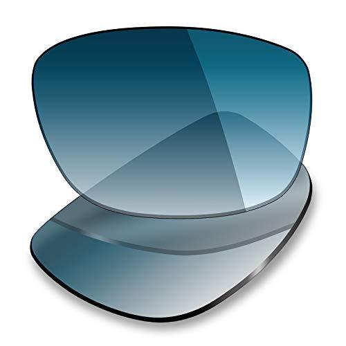 Mryok Ersatzgläser für Oakley Ten X - Options, Blau (Polarisiert – blauer Farbverlauf), Einheitsgröße